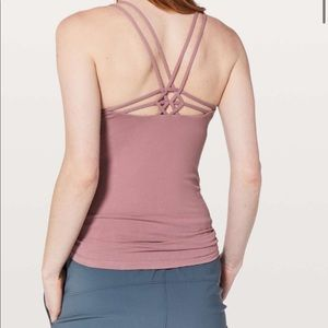 Lululemon Create Your Calm Tank size 4 Color Figue